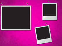 Photo Frames Indicates Text Space And Blank Royalty Free Stock Photos