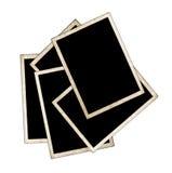 Photo frames isolated on white Royalty Free Stock Photo