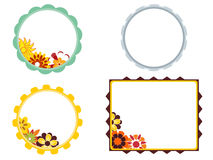 Photo frames for kids Stock Images