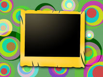 Photo Frames Means Color Copyspace And Layout Stock Photo