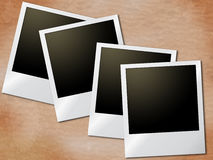 Photo Frames Means Old Paper And Blank Royalty Free Stock Images