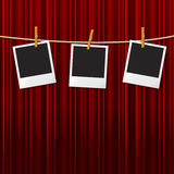 Photo Frames Means Text Space And Blank Royalty Free Stock Images