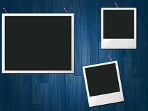 Photo Frames Represents Blank Space And Background Royalty Free Stock Images