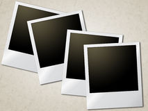 Photo Frames Represents Old Paper And Background Stock Photography