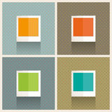 Photo Frames Retro Royalty Free Stock Photos