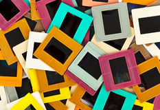 Photo frames for slide. Art background Royalty Free Stock Photo