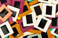 Photo frames for slide. Art background Stock Photos