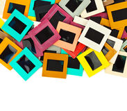 Photo frames for slide Royalty Free Stock Images