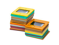 Photo frames for slide Stock Images