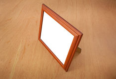 Photo frames on the table Stock Photography