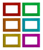 Photo frames on the white Royalty Free Stock Photo
