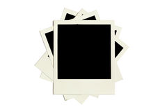 Photo frames on white background Royalty Free Stock Images