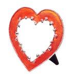 Photo framework heart Royalty Free Stock Image