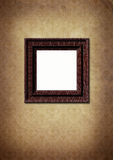 Photo framework on old paper victorian style. Stock Photos