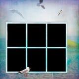 Photo frameworks background style grunge. Royalty Free Stock Image