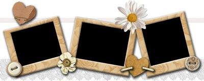 Photo Frameworks In A Retro Style Royalty Free Stock Image