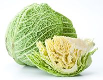 Photo of fresh cabbage. Royalty Free Stock Image