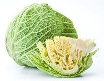 Photo of fresh cabbage. Royalty Free Stock Image
