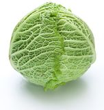 Photo of fresh cabbage. Royalty Free Stock Photo