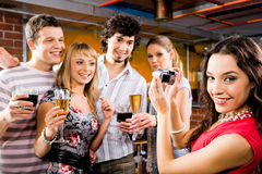 Photo of friends Royalty Free Stock Image