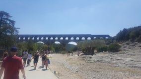 Pont du gar Royalty Free Stock Image