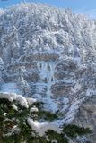 Photo of a frosen Landscapes. A Photo of a frosen Landscapes Royalty Free Stock Images
