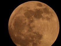 Photo of full moon from the Italian sky royalty free stock photography