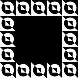Photo géométrique, cadre de photo dans le format squarish illustration stock