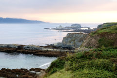 Photo of the Galician coast Stock Photography