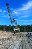 Photo of a giant quarry excavator Royalty Free Stock Images