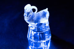 Photo of glass bright sheep Stock Image
