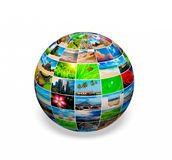 Photo globe Royalty Free Stock Photography