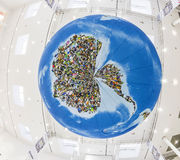 Photo globe,  in Cologne Royalty Free Stock Photo
