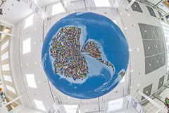 Photo globe  in Cologne Royalty Free Stock Images