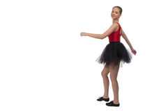 Photo of going young ballerina Stock Photography