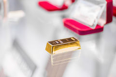 Photo of a  gold bar Stock Images