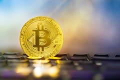 Photo Golden Bitcoins , BTC coins Stock Image