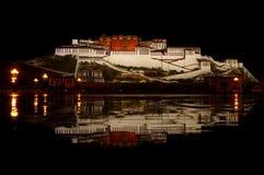 Potala palace in night Stock Photo