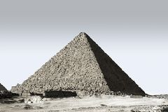 Photo of Great Pyramid of Giza royalty free stock images