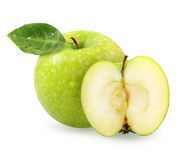 Photo green apples Royalty Free Stock Image