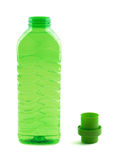 Photo of green plastic bottle Royalty Free Stock Photo