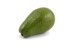 Photo of green ripen avocado Royalty Free Stock Images