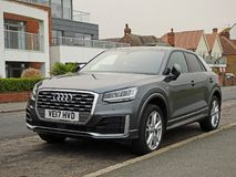 Audi q2 tfsi car Royalty Free Stock Photography