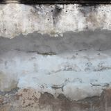 Photo of grey concrete wall for texture background.  Royalty Free Stock Photography