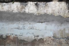 Photo of grey concrete wall for texture background.  Stock Photography
