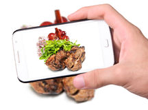 Photo grilled meat Royalty Free Stock Images