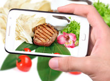 Photo grilled meat Royalty Free Stock Image