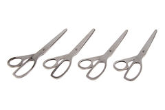 Photo of group steel scissors Royalty Free Stock Image