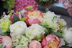 Photo of handmade bouquet Royalty Free Stock Photography