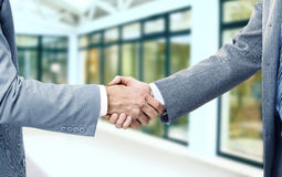 Photo of handshake of business partners Royalty Free Stock Photo